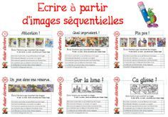 PROJET ATELIERS ECRITURE Teaching Kindergarten, Teaching Writing, Writing Activities, Writing A Book, Writing Prompts, Elementary Teaching, French Teacher, Teaching French, Teacher Helper
