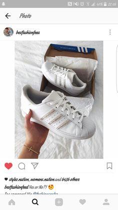 the latest 4f729 684ea Blanco  lt  lindo  gt  Zapatillas Sneakers, Zapatos, Blanco, Entrenadores,  Adidas