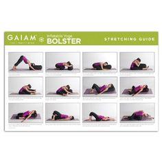Image result for yoga bolster poses