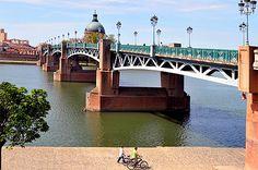 Quai de la Daurade à Toulouse