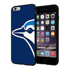 "Toronto Blue Jays logo Baseball,Cool iPhone 6 Plus (6+ , 5.5"") Smartphone Case Cover Collector iphone TPU Rubber Case Black Phoneaholic http://www.amazon.com/dp/B00VSLDWK0/ref=cm_sw_r_pi_dp_zS1nvb0CR74F2"