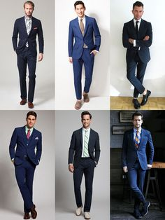 The New Spring/Summer Power Suits: Navy In Seersucker Summer Weight Suits, Full Suit Lookbook Inspiration