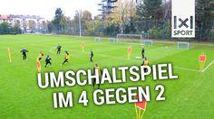 Fußballübung (TSV 1860 München): Passspiel & Taktik - Das Umschaltspiel ...