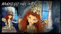 maurice elf girl outfit kaye wiggs doll by JazzyRagsFran on Etsy