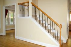 staircase | ... iron balusters add a touch of elegance and permanence to a staircase