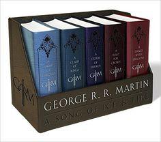 George R. R. Martin A Song Of Ice And Fire Leather Box Set