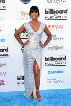 Kelly Rowland in Rami Al Ali at the Billboard Music Awards 2013 Red Carpet
