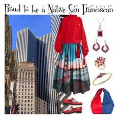 """""""Native San Franciscan"""" by karen-galves ❤ liked on Polyvore featuring Chicwish, Vetements, MR by Man Repeller, J.W. Anderson and Effy Jewelry"""