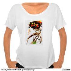 Fall In/womens t-shirt
