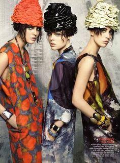 ::: OutsaPop Trashion ::: DIY fashion by Outi Pyy :::: Fabric circles