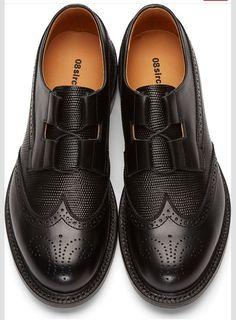 Sircus Black Leather Brogue