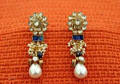 Gold Plated Silver Earrings – Desically Ethnic