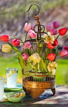 (Quick View) for these 10 DIY Flowers Centerpieces To Enter Spring Vibes In The Home