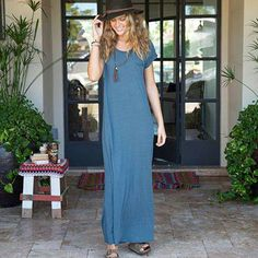 Indigo Logan Maxi Dress