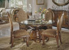Surprising Dining Room Ideas With Lovely Round Glass Top Dining Tables  Design: Astonishing Repertoire Round Glass Pedestal Table And Comfy Cozy  Dinu2026