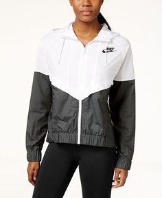 Nike Wind Runner Colorblocked Jacket - Jackets & Blazers - Women - Macy's