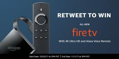 RT to WIN the all-new @amazonfiretv Fire TV  jet s. (@frugaliscious) | Twitter
