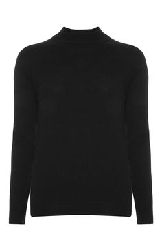 Primark - Black Soft Turtle Neck Jumper