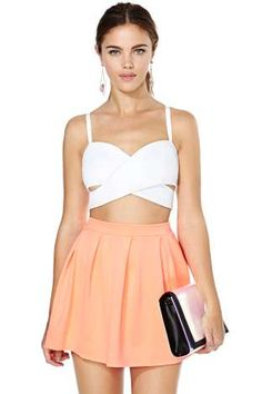 Scuba Skater Skirt | Shop Skirts at Nasty Gal
