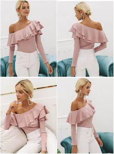 Bluza Rini-69 Lei #blouseonshoulders #pinkblouse #elegant #autumnblouse #fashionblouse #autumnstyle #womanfashion #linkinbio