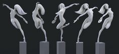 ArtStation - dancing, Kontorn Boonyanate