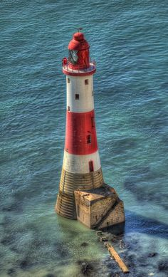 Lighthouse - Beachy Head, East Sussex, England. A truly exceptional photo of this one.