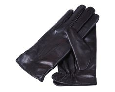 SAGEBROWN Black Mens Fur Lined Gloves >>> Details can be found by clicking on the image.