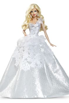 No holiday party is complete without the perfect special occasion dress! 2013 Holiday Barbie™ Doll.
