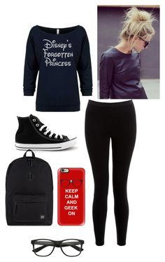 """Fabulous Friday"" by pandagymnast4life ❤ liked on Polyvore featuring Boudicca, Converse, Casetify and Herschel Supply Co."