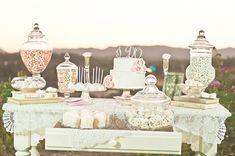 Wedding Dessert Table -  Mariela Campbell Photography