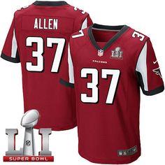 #NikeFalcons #37 #Ricardo #Allen Red Team Color Super Bowl LI 51 Men's Stitched NFL Elite Jersey #InBrotherhood #JetJones #Luckyjerseys #SB51 #RiseUp #AtlantaFalcons #SuperBowl
