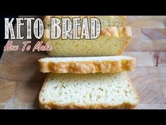 You're not going to have to give up delicious tasting bread to adopt a low carb lifestyle. We've got you covered with this delicious keto bread recipe that we've perfected over our three years on a keto diet.