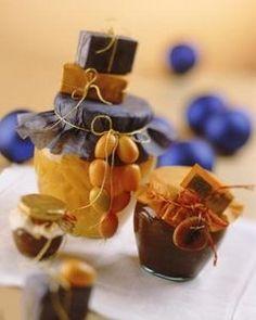 Homemade Christmas Gift Jar & Basket