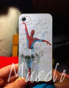 Spiderman Ballet for iPhone 4/4s iPhone 5/5s/5c by MuscleCustom, $14.99