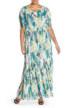Nordstrom maxi dress plus size