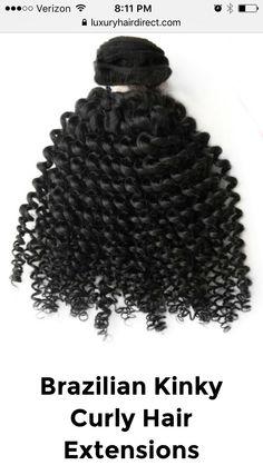 Brazilian kinky curly!