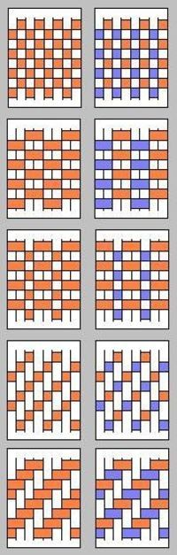 paper weaving patterns | origami-resource-center.com - Juxtapost