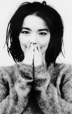 Björk by Jean-Baptiste Mondino for Debut album cover, 1993