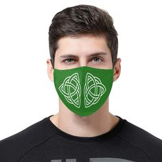 Celtic Knot 3D Mouth Mask with Drawstring (Pack of 3) Irish Design, One Design, Irish Celtic, Celtic Knot, Sold Out Sign, Celtic Tree Of Life, Celtic Designs, Mouth Mask, Ear Loop