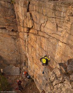 Про новые скалолазные маршруты в Коростышеве