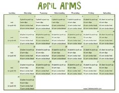 going to try doing both arm workouts this month .. here goes nothing