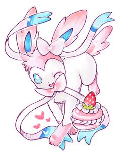 Day #4 sylveon is definitely my favourite eeveelution! So beautiful and majestic!!!