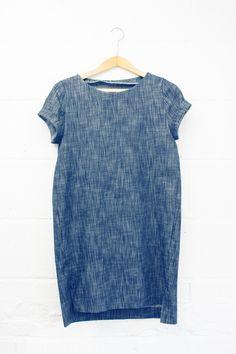 denim Inari tee dress Named Clothing