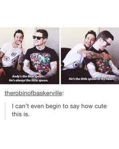 Discovered by Tiffany Blews. Find images and videos about fall out boy, patrick stump and pete wentz on We Heart It - the app to get lost in what you love. Emo Band Memes, Emo Bands, Music Bands, Fall Out Boy Memes, Save Rock And Roll, Soul Punk, Pete Wentz, This Is A Book, My Chemical Romance