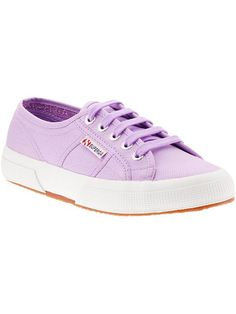 lilac sneakers / superga