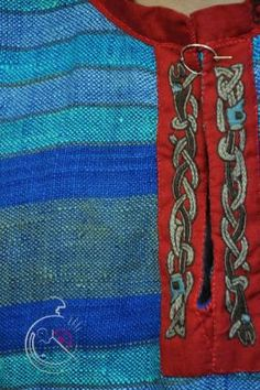 viking embroidery (flipped on opposing sides for an asymmetrical look!)