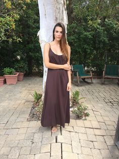 Long Perfect Dress in Trail from TYSADESIGNS