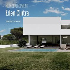 🆕️ EDEN CINTRA // Brand new development with 15 villas of contemporary architecture, in the quiet village of Nafarros, Sintra.  The construction is expected to be completed by the end of 2021 🔜  For more info please contact us: 📥 @sothebysrealtyestorilcascais 📞 (+351) 919 010 919 📧 cascais@sirpt.com . . . . . . . #sir #sircletheglobe #potd #realestate #sothebysrealty #investinportugal #onlysothebysrealty #portugalrealestate #estoril #cascais #listing #home #properties #forsale… Contemporary Architecture, Villas, Real Estate, Construction, Outdoor Decor, Home, Building, Real Estates, Ad Home