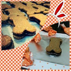 Biscoitos recheados.