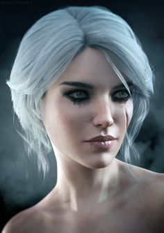 Ciri | The Witcher 3 Fanart by Lehira-Rutherford